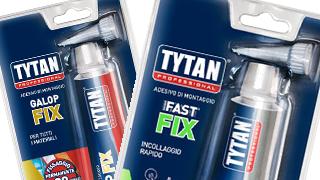 Adesivi e sigillanti Tytan: nuovo formato blister con kit expo