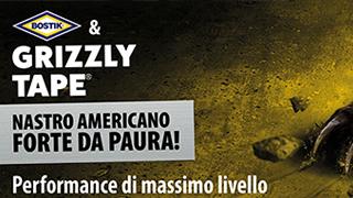 Bostik Grizzly Tape, il nastro americano forte da far paura!
