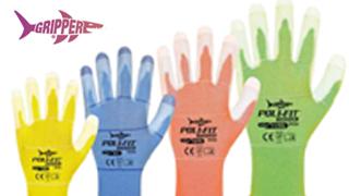 Gripper: i guanti rinforzati, tre volte più resistenti