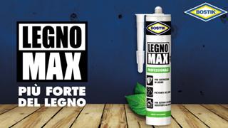 BOSTIK Legno Max®, la colla per legno